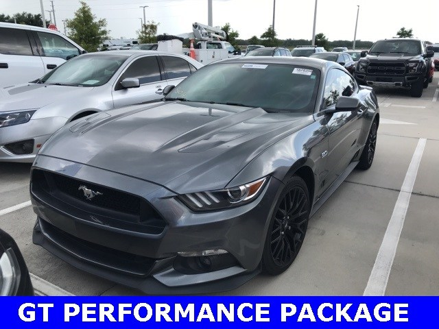 Photo Used 2015 Ford Mustang GT Premium W GT Performance Package, Navigation, Coupe V-8 cyl in Kissimmee, FL