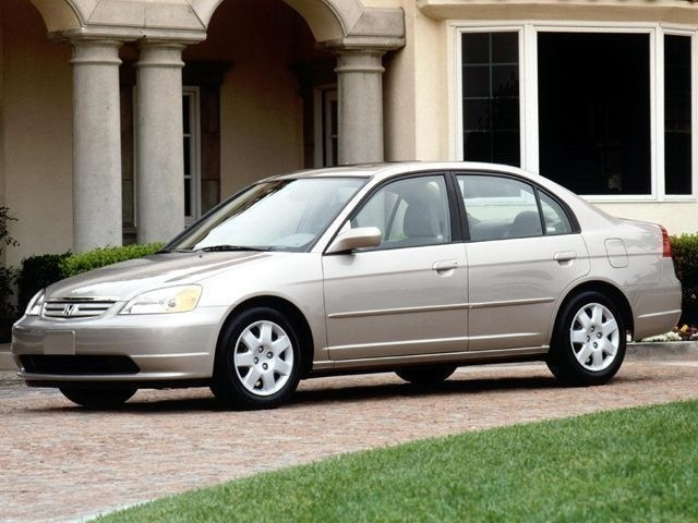Photo Used 2002 Honda Civic DX for Sale in Portage near Hammond