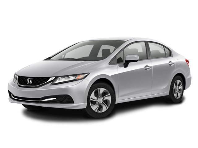 Photo Used 2015 Honda Civic LX Sedan Variable Front-wheel Drive in Chicago, IL