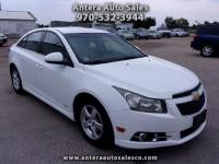 2012 Chevrolet Cruze RS 1LT 4dr Turbo 3M/3K Nationwide Warranty