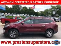 Certified Used 2015 Chevrolet Traverse 2LT SUV in Burton, OH