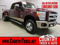 2012 Ford Super Duty F-350 DRW King Ranch Crew Cab Long Bed Dually 4WD