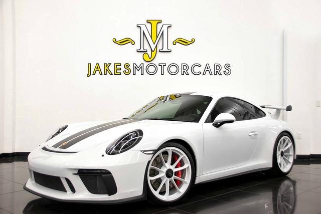 Photo 2018 Porsche 911 GT3 FRONT LIFT CARBON INTERIOR PKG 1300 MILES