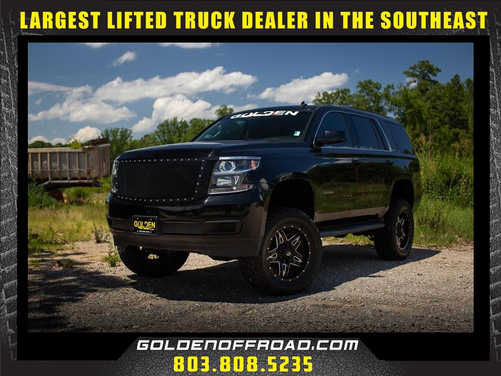 Photo 2015 Chevrolet Tahoe LT 4WD 5.3L V8 Pro Comp 6 In. Lifted Fuel