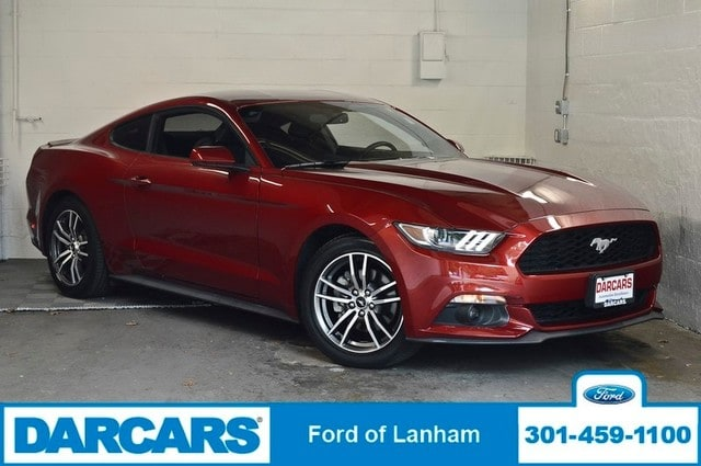 Photo 2017 Ford Mustang EcoBoost PREMIUM FASTBACK Coupe 4-Cyl Engine