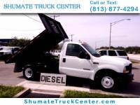 2002 Ford F-350 Sizzor Lift / Flatbed Dump Combo