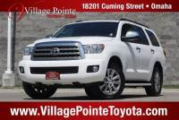 2015 Toyota Sequoia Limited SUV 4WD for sale in Omaha