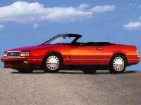 Used 1993 CADILLAC ALLANTE Coupe Convertible Dealer Near Fort Worth TX