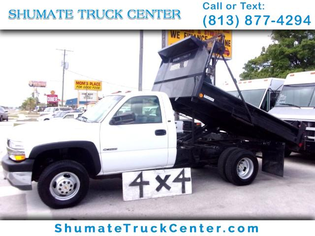 Photo 2002 Chevrolet Silverado 3500 4x4 10 FT. Dump