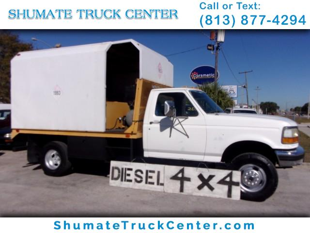 Photo 1997 Ford F-450 4X4 LUBE TRUCK 7.3 DIESEL