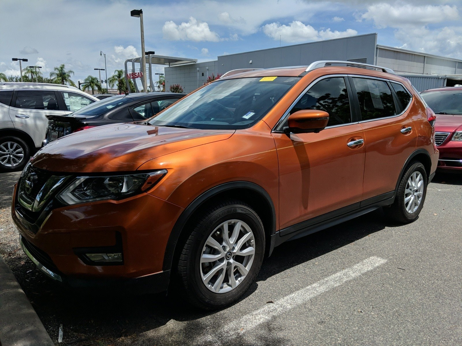 Photo Certified Pre-Owned 2017 Nissan Rogue SV SUV For Sale Leesburg, FL