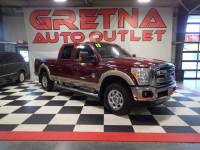 2013 Ford F-250 SD LARIAT CREW 6.7L TURBO DIESEL 4X4! FULLY LOADED!