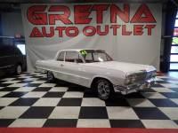 1963 Chevrolet Bel Air 283 V8 2 DOOR POST ONLY 48,529 ACTUAL MILES!