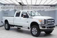 2014 Ford Super Duty F-350 Lariat Diesel 4x4 SRW LIFTED Navigation Climate Seats
