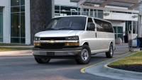 Pre-Owned 2015 Chevrolet Express Passenger 3500 Extended Wheelbase Rear-Wheel Drive 1LT