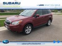 2015 Subaru Forester 2.5i Limited in Rochester, MN