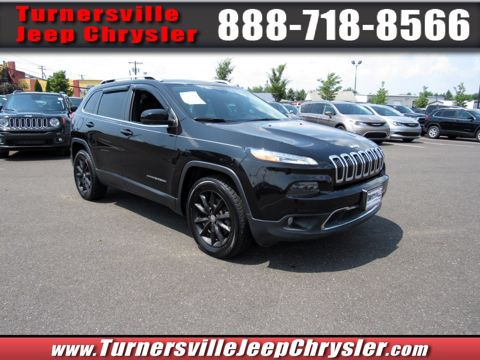 Photo 2014 Jeep Cherokee Limited 4x4 SUV for sale in South Jersey