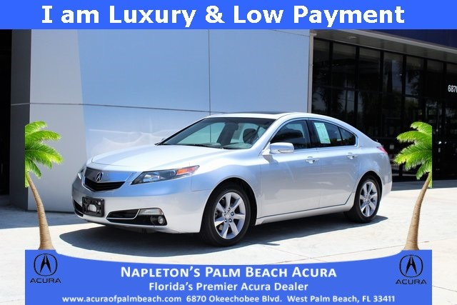 Photo Used 2013 Acura TL 3.5 in West Palm Beach, FL
