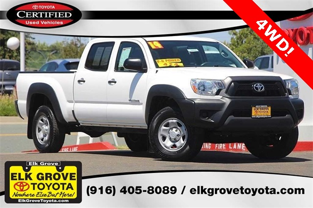 Photo Certified Pre-Owned 2014 Toyota Tacoma 4D Double Cab
