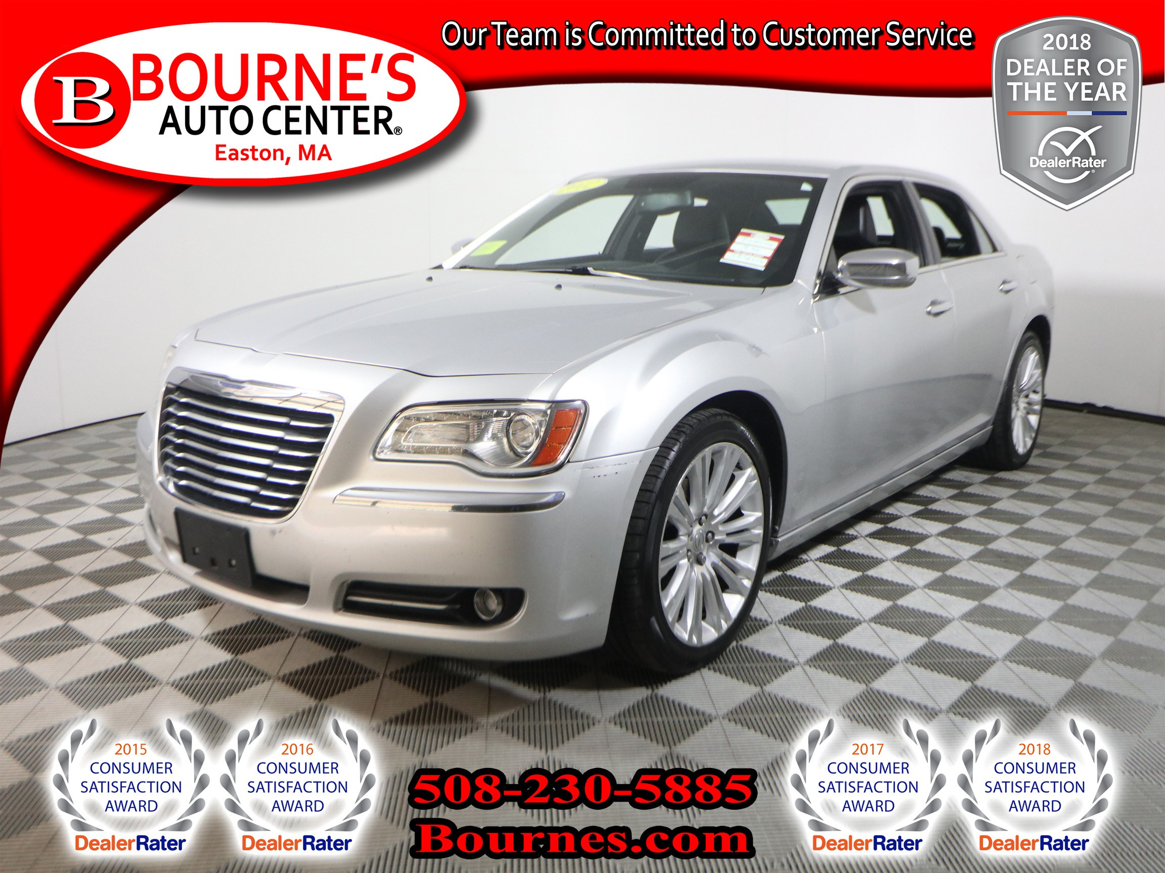 Photo 2012 Chrysler 300 Limited w Navigation,Leather, And Heated Front Seats.