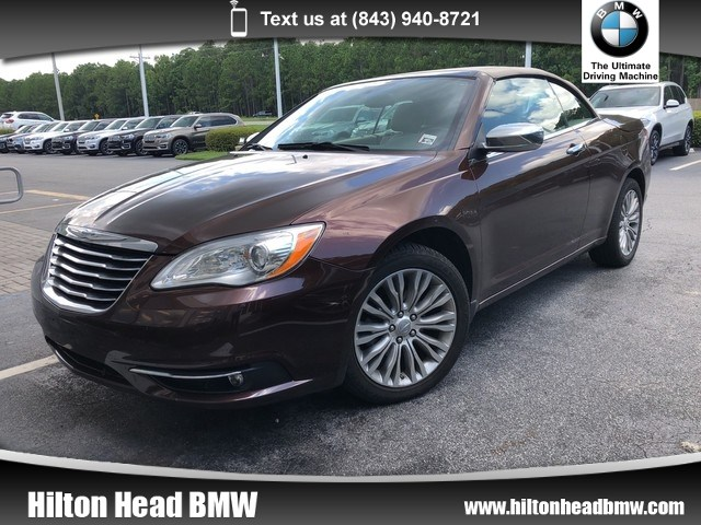 Photo 2012 Chrysler 200 Limited  Clean One Owner Trade In  Satellite Rad Convertible Front-wheel Drive
