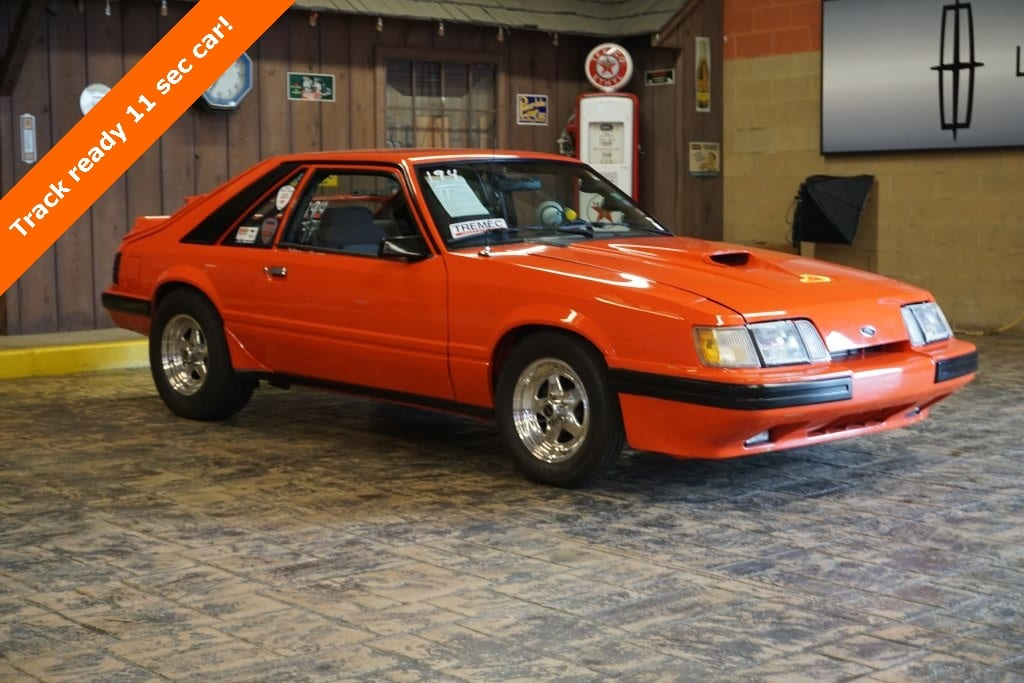 Photo 1985 Ford Mustang SVO Hatchback
