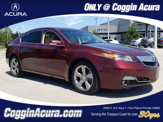Photo Pre-Owned 2013 Acura TL TL with Advance Package Sedan in Jacksonville FL