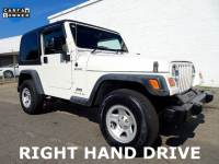 2006 Jeep Wrangler Sport Right Hand Drive