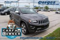 Used 2014 Jeep Grand Cherokee Overland 4x4 SUV For Sale in Omaha