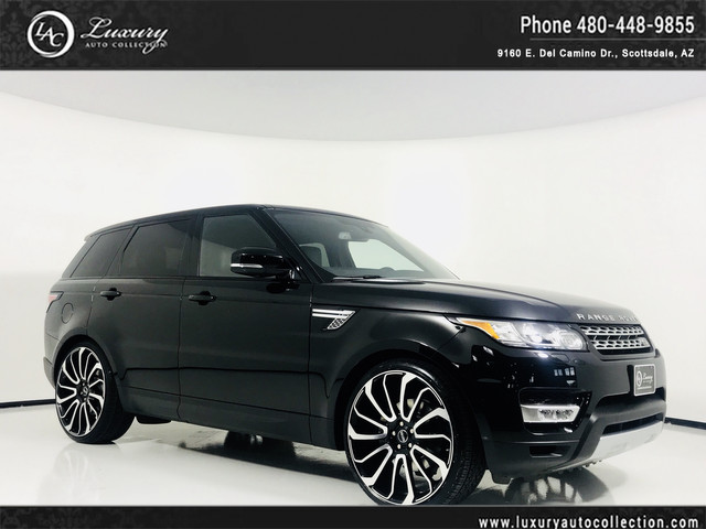 Photo 2017 Land Rover Range Rover Sport HSE Autobiography Wheels  Glass Roof  Meridian Sound  Htd Seats  Rear Camera  18 16 With Navigation