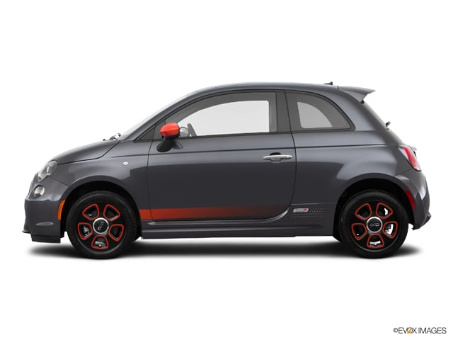Photo Used 2015 FIAT 500e Battery Electric Hatchback For Sale in Omaha
