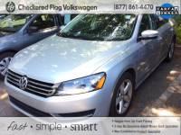 Certified Pre-Owned 2014 Volkswagen Passat 1.8T Wolfsburg Edition FWD 4D Sedan