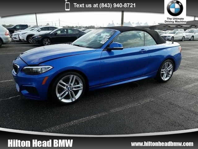 Photo 2015 BMW 2 Series 228i  BMW CPO Warranty  One Owner  M Sport  Po Convertible Rear-wheel Drive