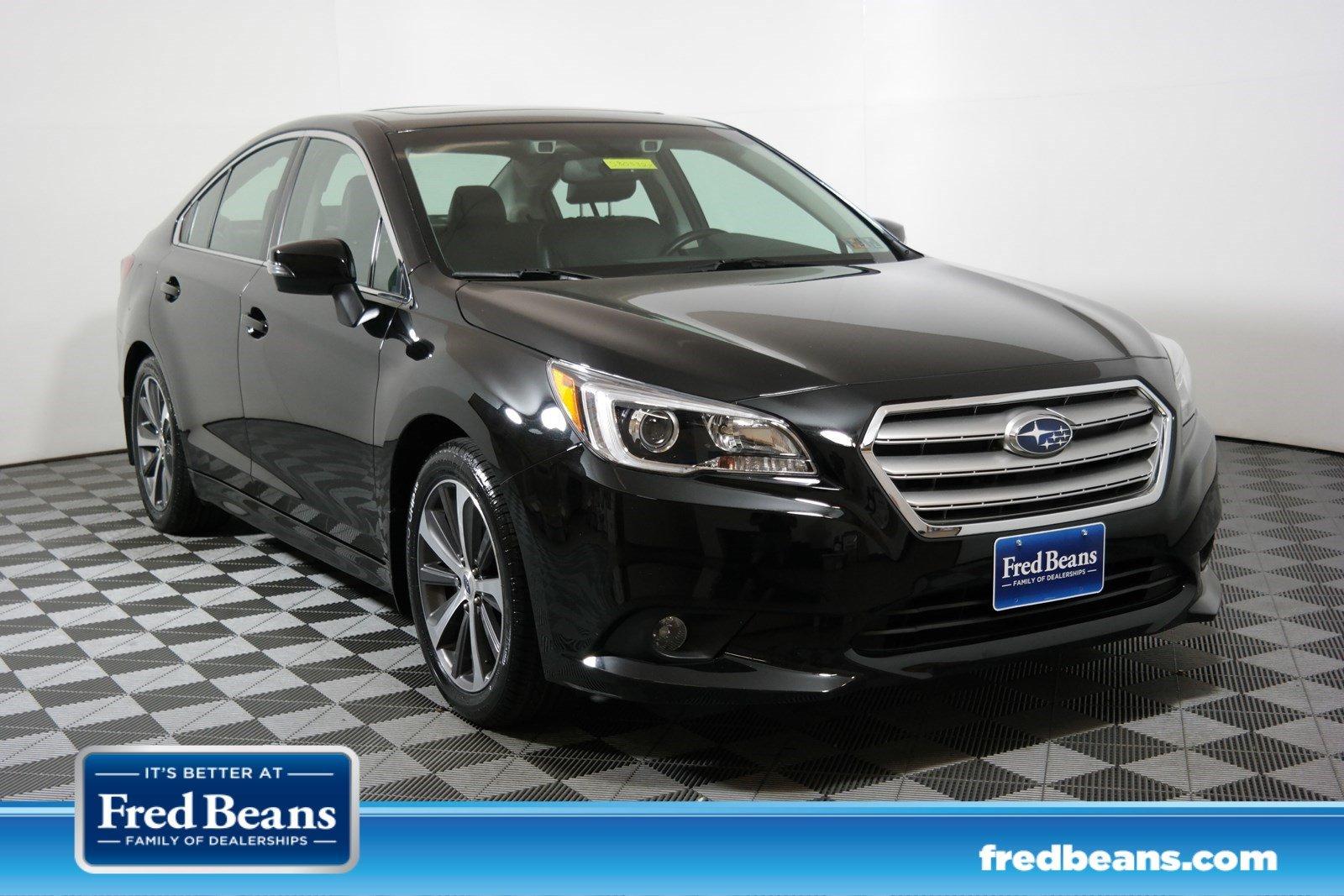 Photo Certified Used 2015 Subaru Legacy 2.5i Limited For Sale in Doylestown PA - Serving Allentown, Jenkintown  Sellersville  4S3BNAN65F3070629