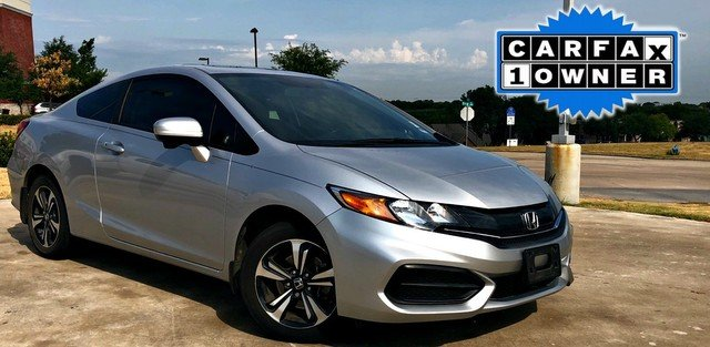 Photo 2015 Honda Civic Coupe EX