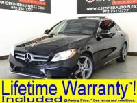 2015 Mercedes-Benz C-Class SPORT PACKAGE AMG WHEEL PACKAGE PANORAMIC ROOF NAVIGATION REAR CAMERA