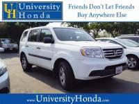 Used 2014 Honda Pilot LX For Sale in Davis CA   5FNYF4H25EB053302   near Sacramento & Elk Grove