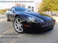 2008 Aston Martin Vantage Convertible **Triple Black**
