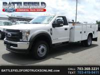 2018 Ford Super Duty F-550 DRW Reg Cab 4x4 XL w/ 11' Utility Body