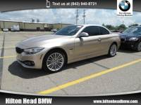 2016 BMW 428i xDrive Convertible 428i xDrive * BMW CPO Warranty * One Owner * Luxur Convertible All-wheel Drive