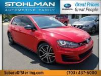 Certified 2017 Volkswagen Golf GTI Sport 4-Door in Sterling