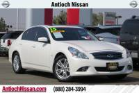 2015 INFINITI Q40 with Navigation Plus Package Sedan at Antioch Nissan