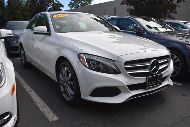 Photo Certified Pre-Owned 2015 Mercedes-Benz C 300 Sport AWD 4MATIC