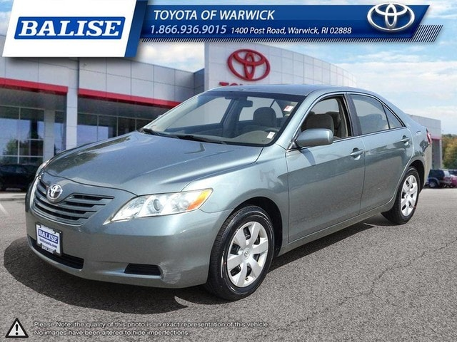 Photo Used 2007 Toyota Camry LE for sale in Warwick, RI