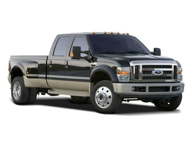Photo 2008 Ford F-450 Lariat Truck Crew Cab 8-Cylinder DI Diesel Turbocharged OHV