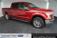 Used 2015 Ford F-150 XLT Truck SuperCrew Cab V-6 cyl For Sale in Duluth