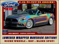 2016 Ford Mustang GT Premium- NAV- LOWERED WRAPPED MAVERICK EDITION!