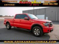 2013 Ford F-150 FX4 4x4 5.0L V8 Pickup Truck