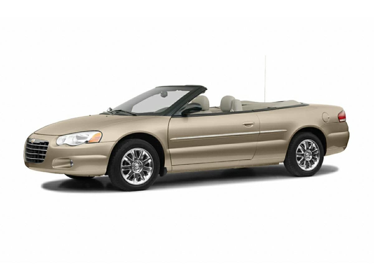 Photo 2004 Chrysler Sebring Limited Convertible In Clermont, FL