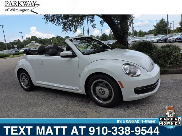Photo Used 2016 Volkswagen Beetle 1.8T S For Sale  Wilmington NC